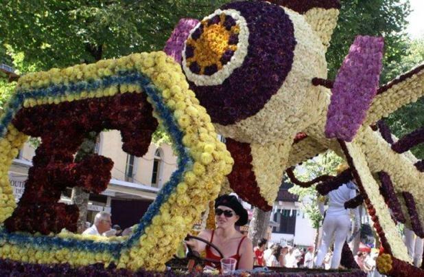 fête des fleurs luchon pyrénées - 208 Pics d'Aran - Location gite luchon - appartement de vacances montagne luchon