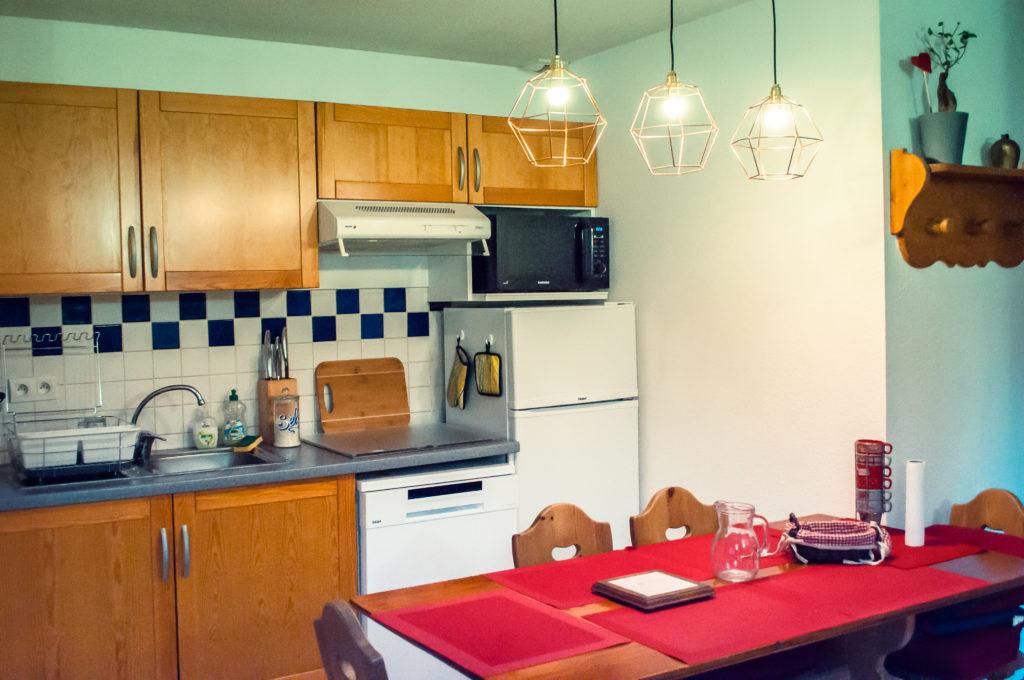 appartement à louer residence 208 pics d'aran -location gîte luchon -pyrénées - T3 4 personnes